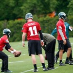 Eagles OTA's continue with Bradford as #1 guy…