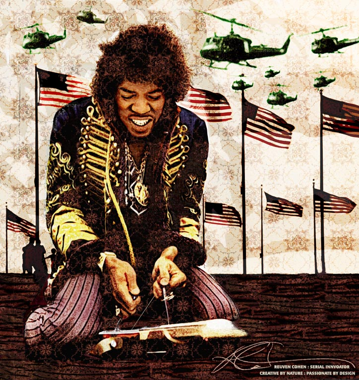 Jimi Hendrix Dies And Lives On Justice Is Coming