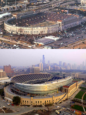 The Life Cycle Of An Nfl Stadium Is 20 Years Old Old
