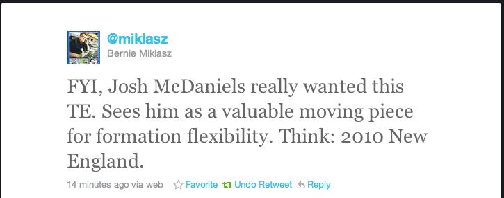 Miklasz tweet