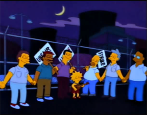 simpsons-picket-line