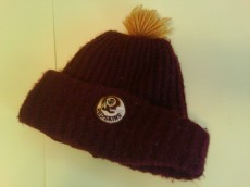 throwback Redskins knit cap