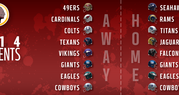 2014 opponents