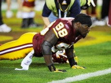 The Redskins are in no hurry to sign Brian Orakpo to a new deal.