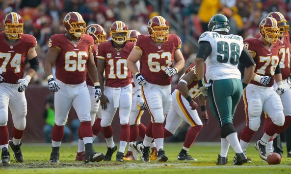 Tyler Polumbus and the Redskins offensive line, 2013