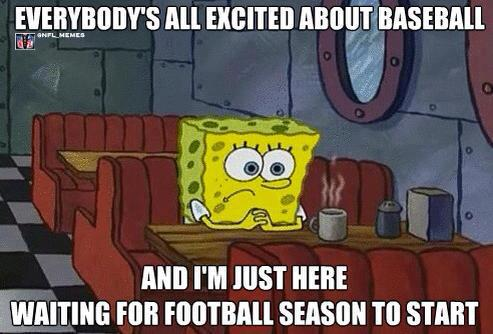 waiting for football