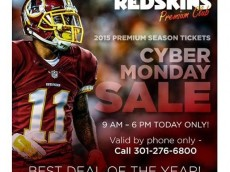 Redskins-Cyber-Monday