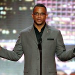LOS ANGELES, CA - JULY 15:  Stuart Scott of ESPN speaks onstage during the 2009 ESPY Awards held at Nokia Theatre LA Live on July 15, 2009 in Los Angeles, California. The 17th annual ESPYs will air on Sunday, July 19 at 9PM ET on ESPN.  (Photo by Kevin Winter/Getty Images)