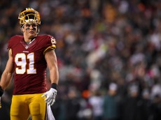 Redskins OLB Ryan Kerrigan was snubbed for the 2015 Pro Bowl.