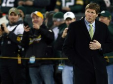 GREEN BAY, WI - JANUARY 05:  Green Bay Packers President and CEO Mark Murphy on the field before the Packers take on the Minnesota Vikings during the NFC Wild Card Playoff game at Lambeau Field on January 5, 2013 in Green Bay, Wisconsin.  (Photo by Jonathan Daniel/Getty Images)