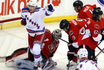 NHL Ottawa New York Rangers