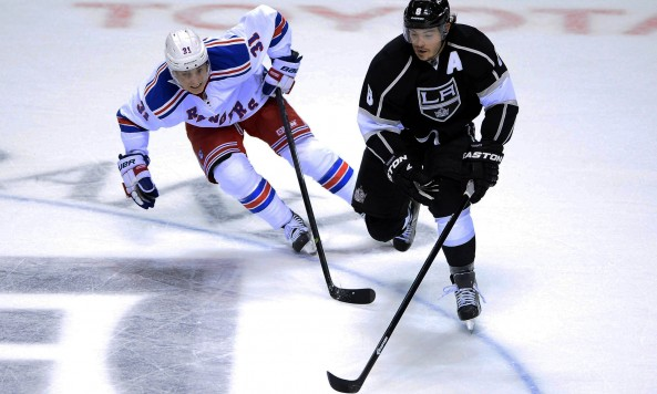 New York Rangers v Los Angeles Kings