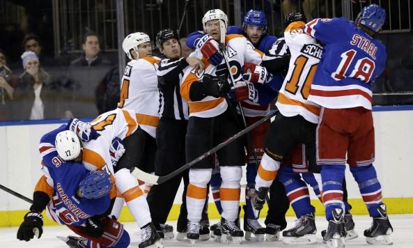 Flyers Rangers Hockey
