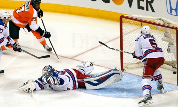 Rangers vs Flyers Game 6