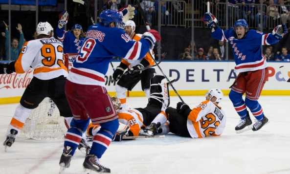 New York City, Hockey, NHL, New York Rangers, Flyers, Madison Square Garden