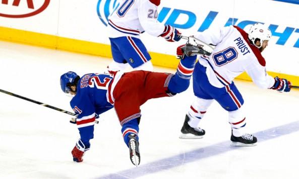 Rangers vs Montreal