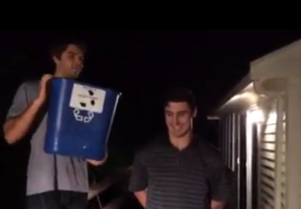 Chris Kreider Ice Bucket