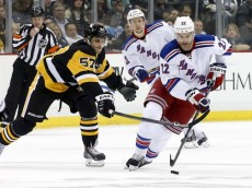 NHL: New York Rangers at Pittsburgh Penguins