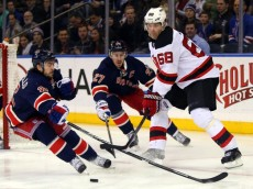 NHL: New Jersey Devils at New York Rangers