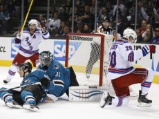 NHL: New York Rangers at San Jose Sharks