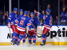 NHL: Columbus Blue Jackets at New York Rangers