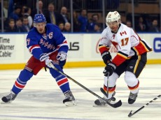 NHL: Calgary Flames at New York Rangers