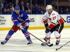 NHL: Calgary Flames at New York Rangers