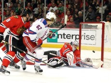 NHL: New York Rangers at Chicago Blackhawks