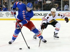 NHL: Preseason-Chicago Blackhawks at New York Rangers