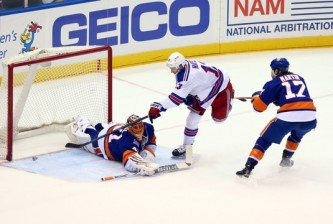 NHL: New York Rangers at New York Islanders