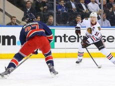 NHL: Chicago Blackhawks at New York Rangers