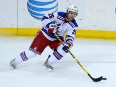 USP NHL: NEW YORK RANGERS AT MINNESOTA WILD S HKN USA MN