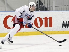 July 2, 2013: The New York Rangers host a development camp at the MSG Training Center in Tarrytown, NY.