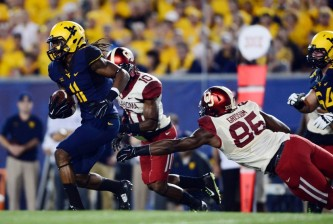 NCAA Football: Oklahoma at West Virginia