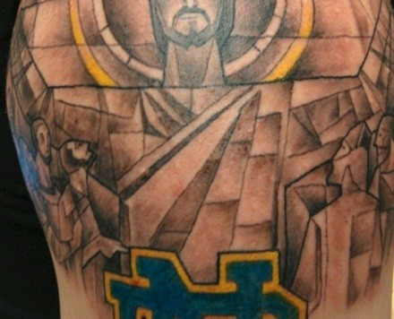 Notre dame pictures to pin on pinterest tattooskid for Manti te o tattoo