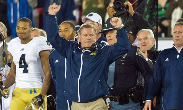 brian kelly returns