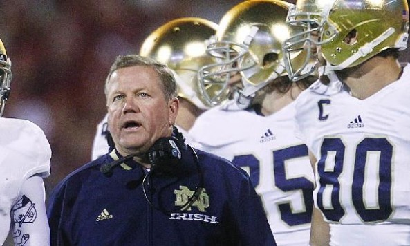 brian kelly recruiting
