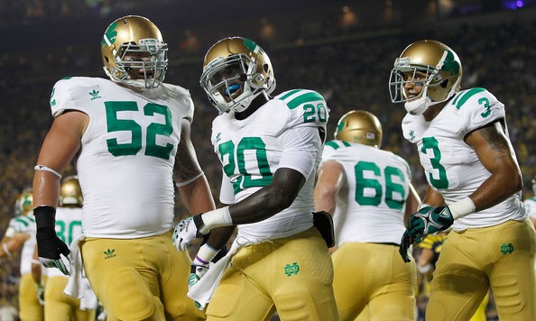notre dame alternate uniform
