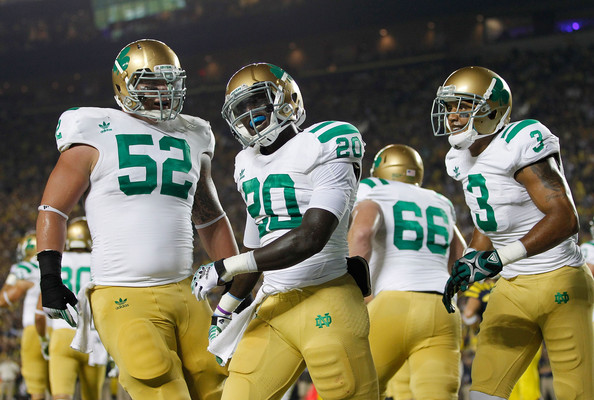 Top 10 Notre Dame Football Alternate Uniforms Of All Time Subway Domer