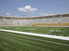 notre dame football turf