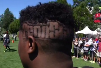 Adam McLean PSU haircut
