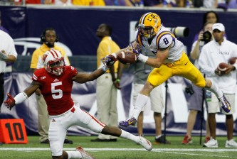 Wisconsin loses to LSU in Houston