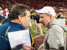 Brady Hoke and Bo Pelini