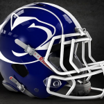 Penn State concept helmet via Fresh Football Helmets.