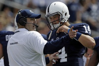 Christian Hackenberg and Bill O'Brien