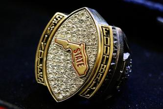 FSU State Championship Rings