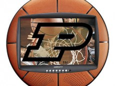 Purdue basketball TV