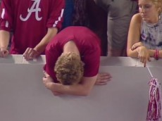 Sad Bama fan
