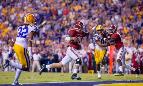 Alabama vs_ LSU