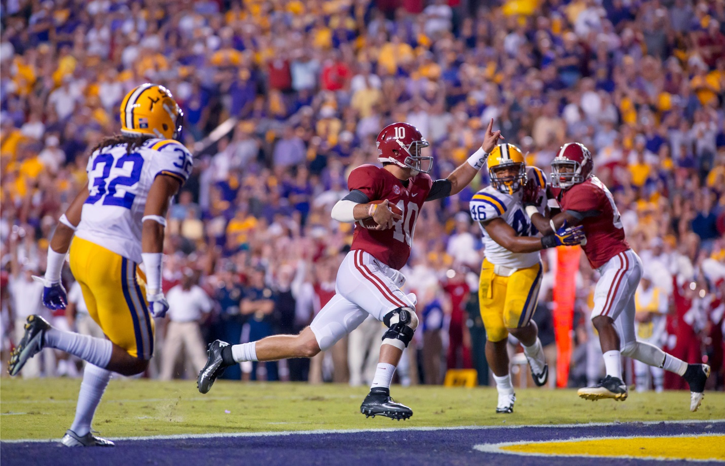 Alabama vs. LSU: One of the Remaining Great Games of the ...